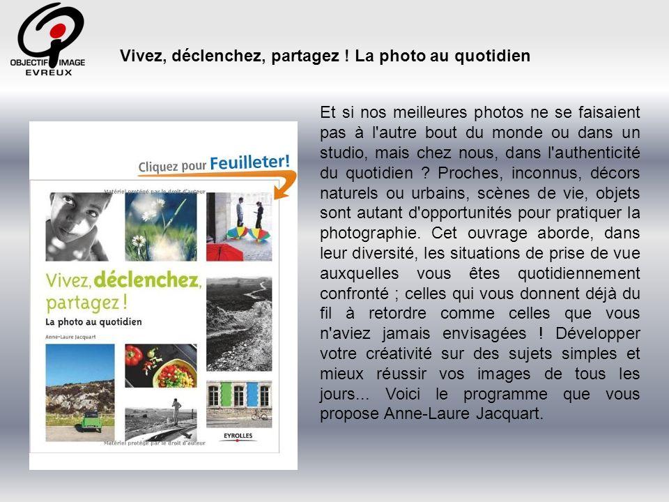 Ce projet est la réédition semi-poche du 2e livre de Anne-Laure Jacquart : « Vivez, déclenchez, partagez .
