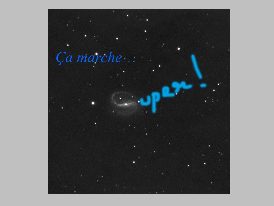 Rondes ? Rondes ou pas rondes ? Valeur moyenne de l'aspect sur 2000 étoiles : 23% D'après CCD inspector, une