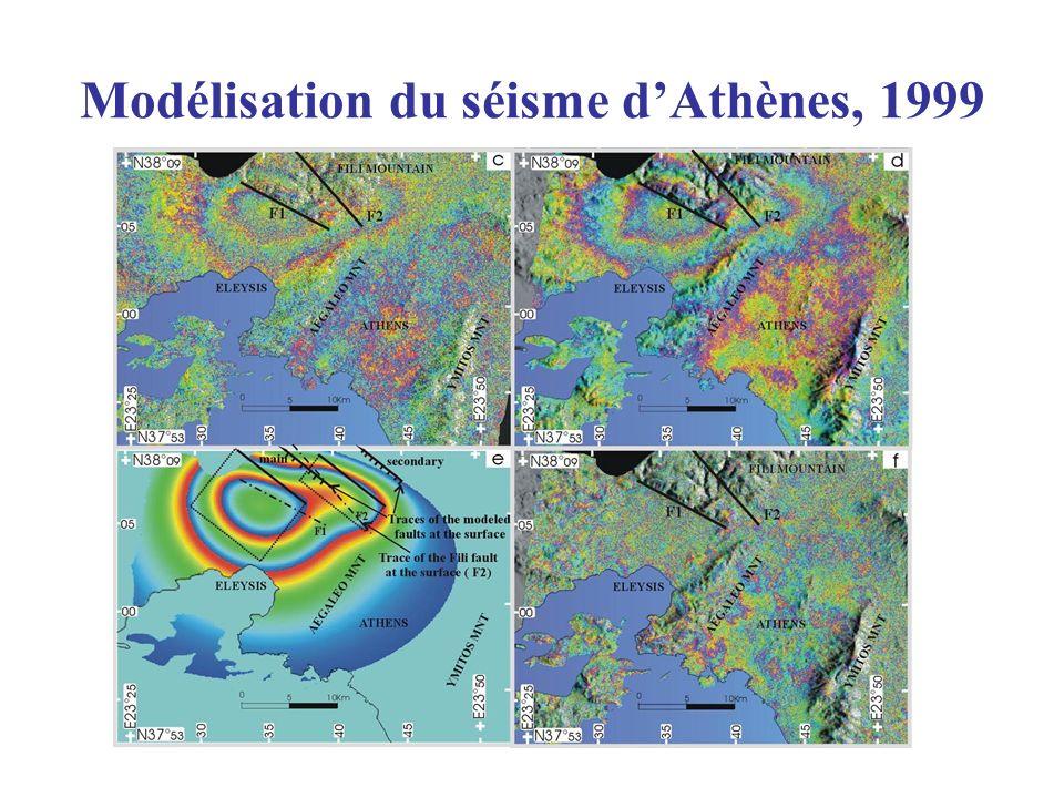 Modélisation du séisme dAthènes, 1999