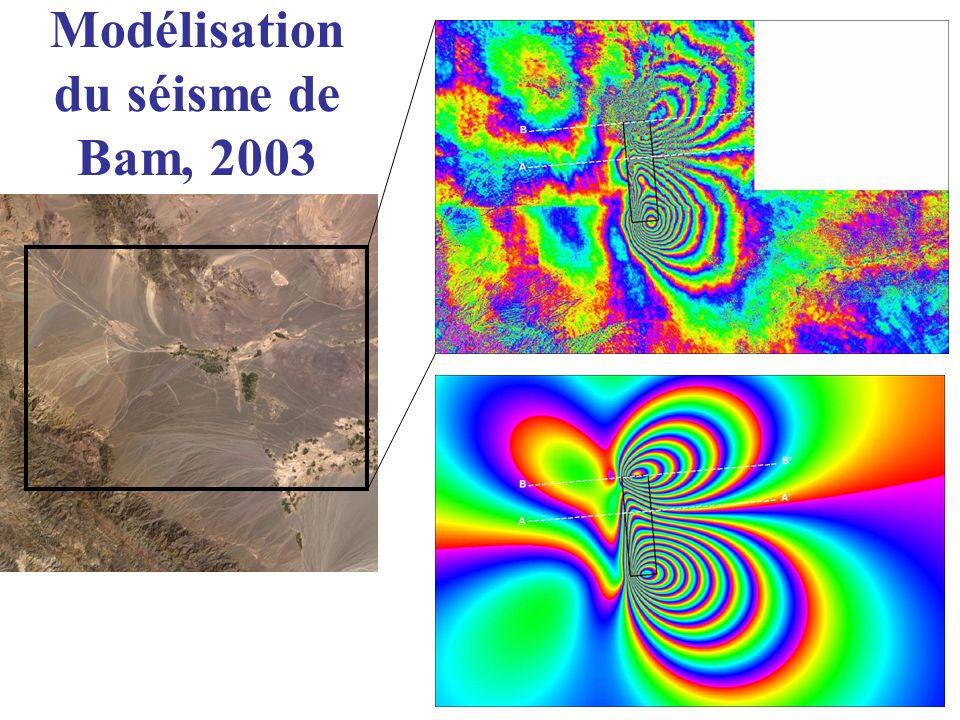 Modélisation du séisme de Bam, 2003
