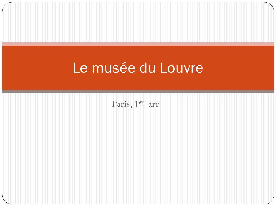 Paris, 1 er arr Le musée du Louvre