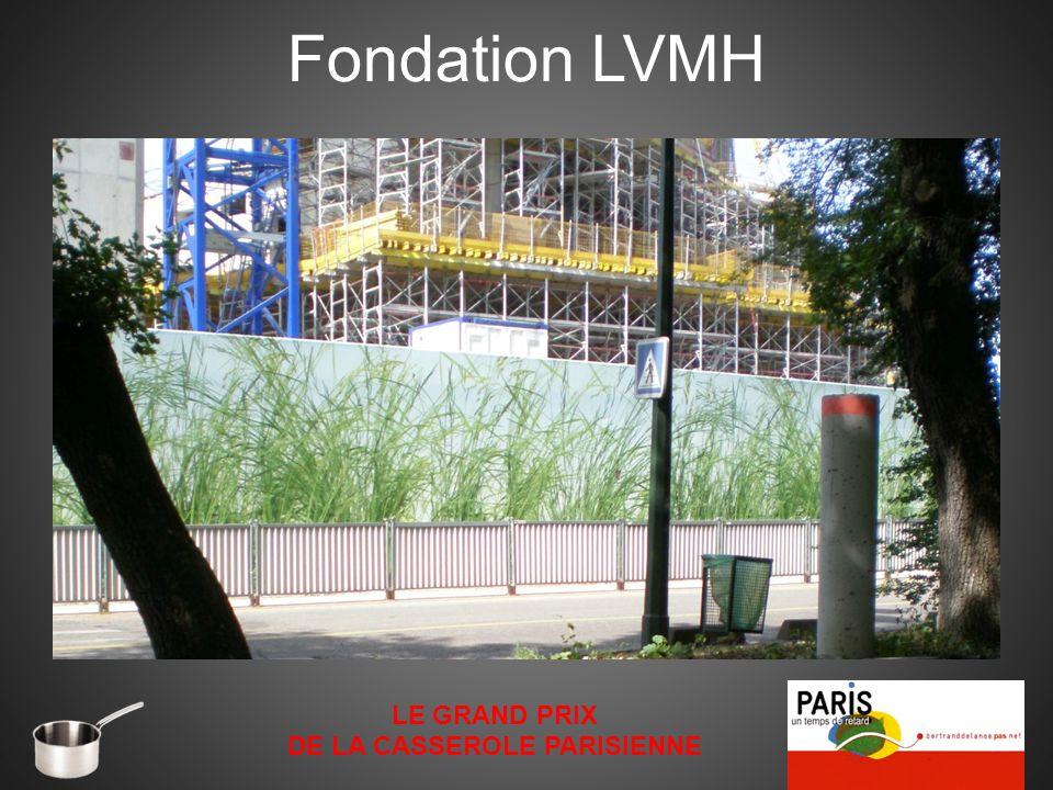 Fondation LVMH LE GRAND PRIX DE LA CASSEROLE PARISIENNE