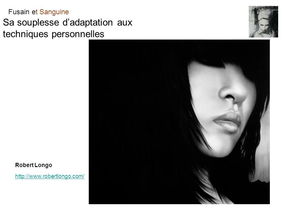 Fusain et Sanguine Sa souplesse dadaptation aux techniques personnelles Robert Longo http://www.robertlongo.com/