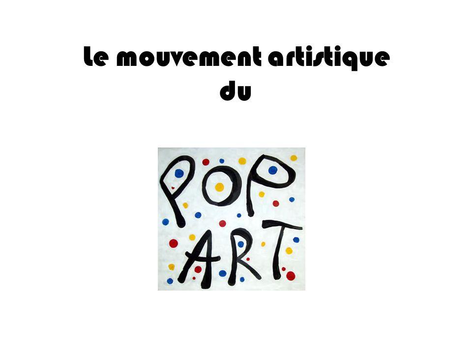 Artistes Le peintre américain Roy Lichtenstein a produit plusieurs œuvres Pop art, ayant été fortement influencé par la publicité populaire et le modèle de la bande dessinée.