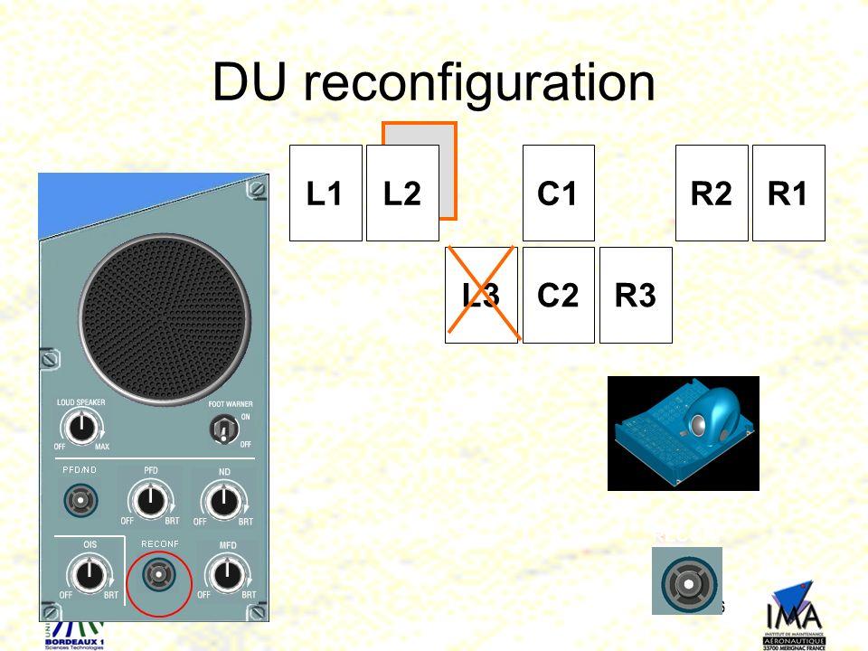 36 L1L2 C2 C1 R3 R2R1 L3 RECONF DU reconfiguration