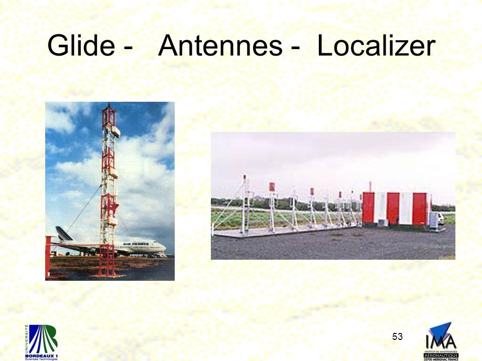 Glide - Antennes - Localizer 53
