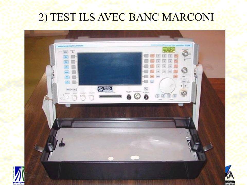 83 2) TEST ILS AVEC BANC MARCONI