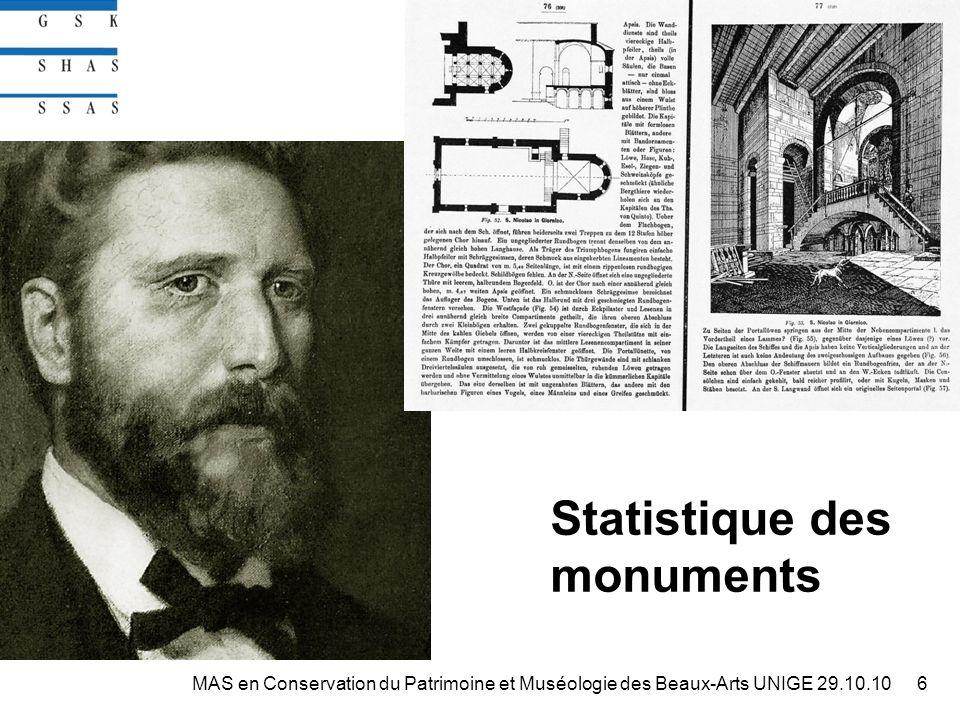 http://digibiblio.unibe.ch/digibern http://doc.rero.ch/record/17017?ln=fr 37MAS en Conservation du Patrimoine et Muséologie des Beaux-Arts UNIGE 29.10.10