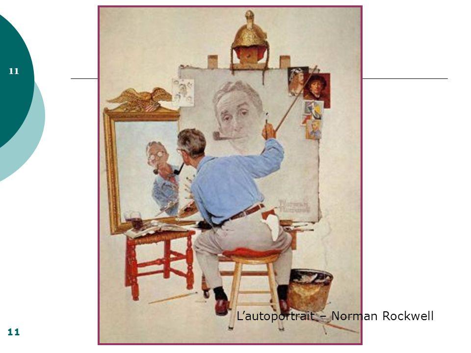 11 Lautoportrait – Norman Rockwell 11