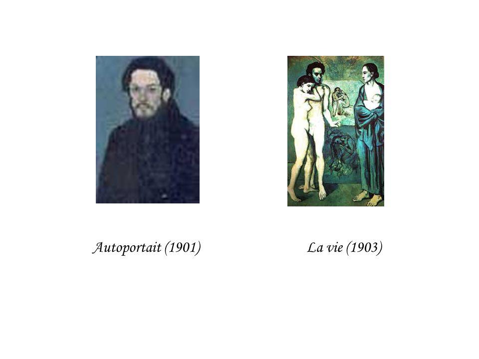 Autoportait (1901)La vie (1903)