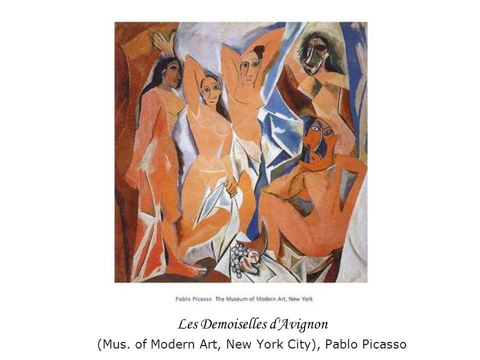 Les Demoiselles d'Avignon (Mus. of Modern Art, New York City), Pablo Picasso