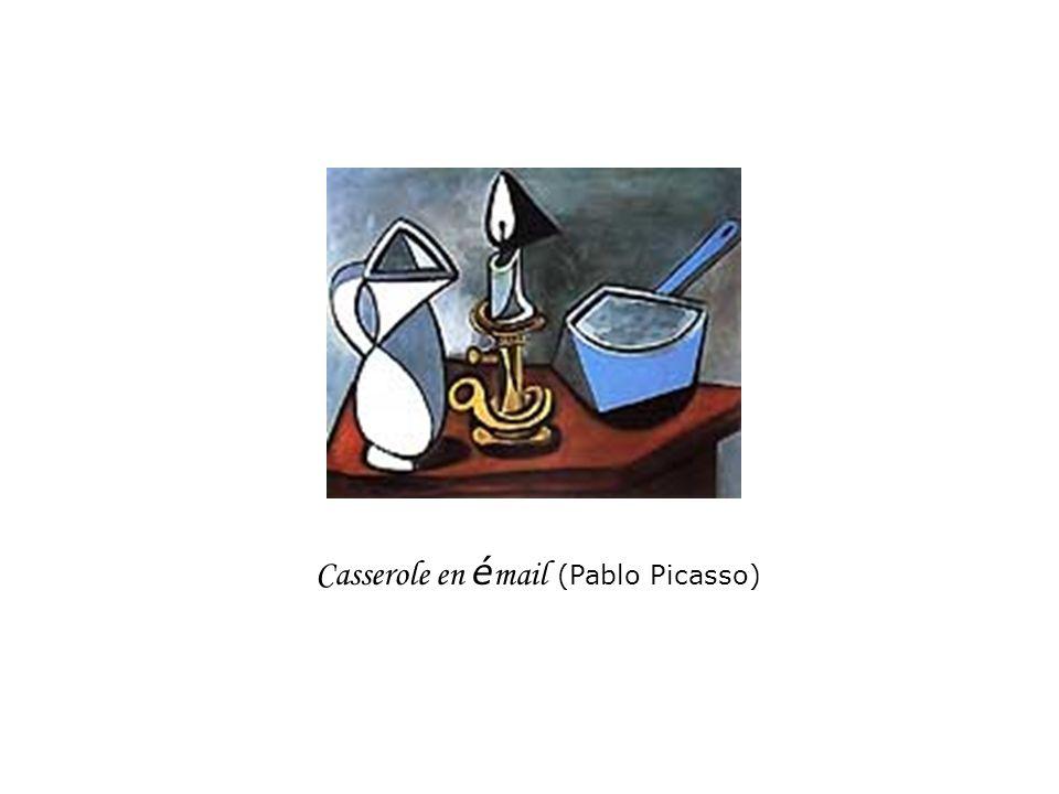 Casserole en é mail (Pablo Picasso)