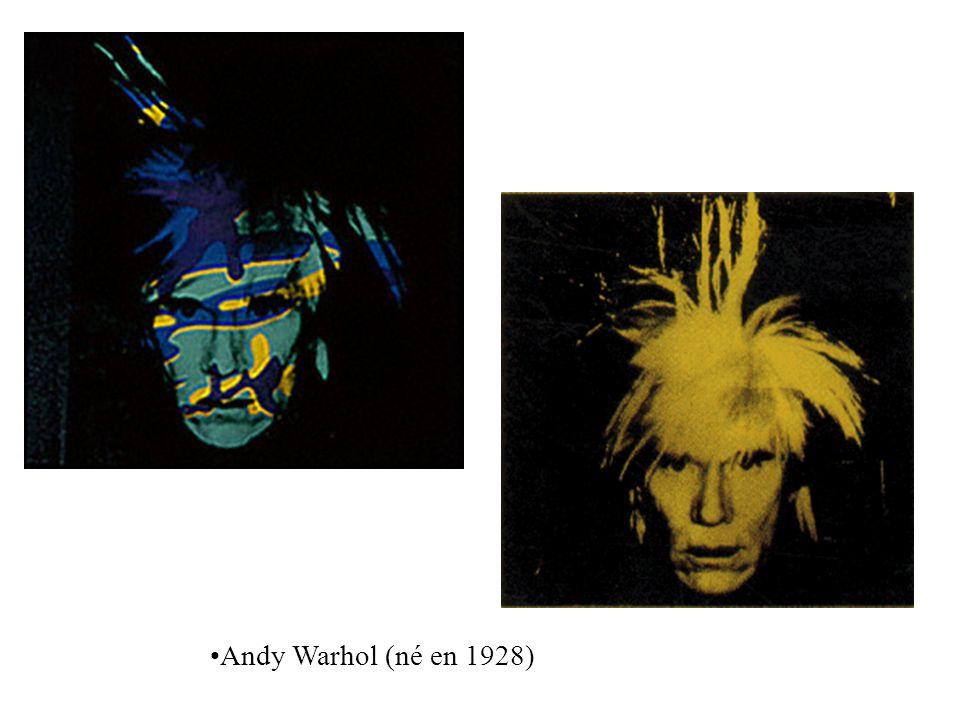 Andy Warhol (né en 1928)