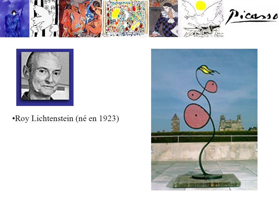 Roy Lichtenstein (né en 1923)