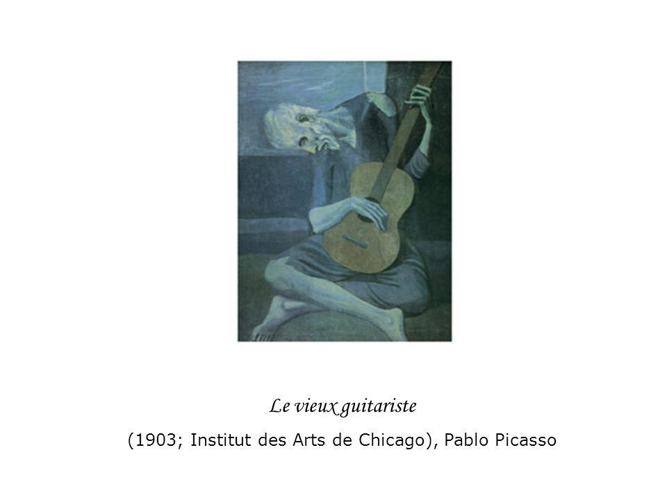 Le vieux guitariste (1903; Institut des Arts de Chicago), Pablo Picasso