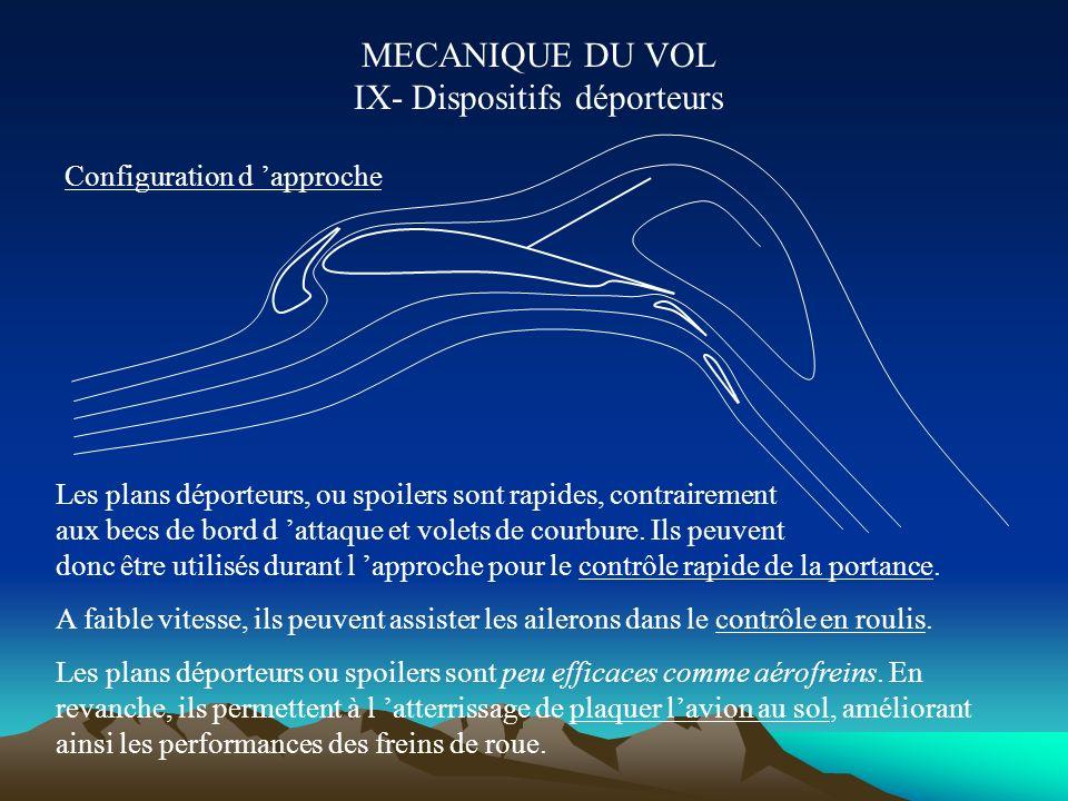 MECANIQUE DU VOL VIIIe- Dispositifs hypersustentateurs : Cz max et domaine de vol