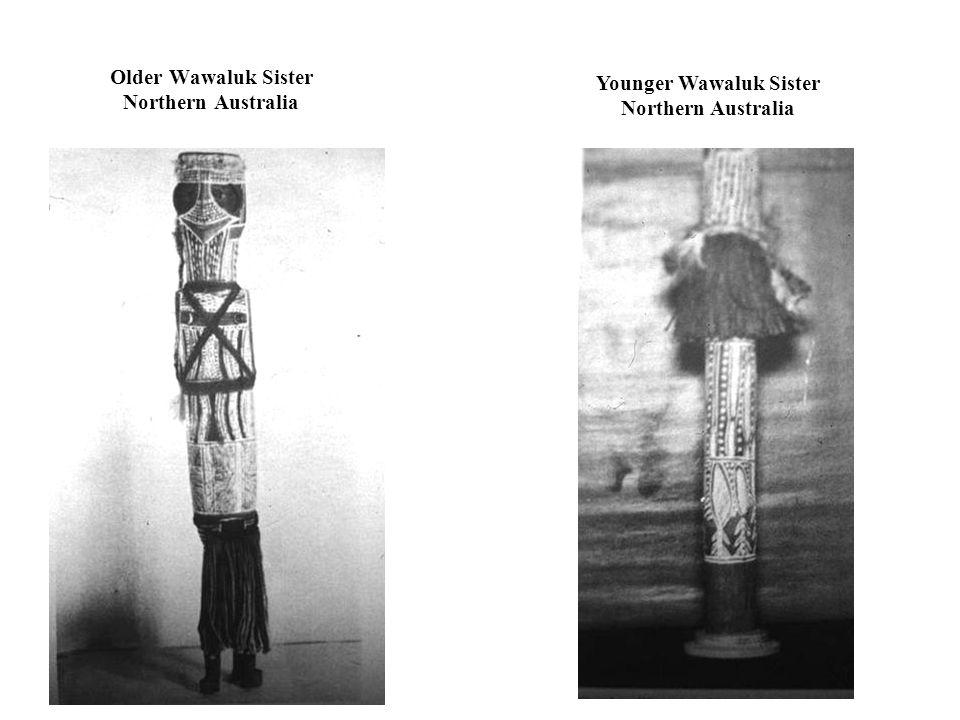 Older Wawaluk Sister Northern Australia Younger Wawaluk Sister Northern Australia