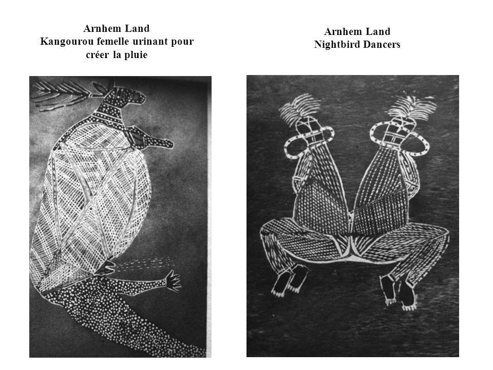 Wongar (Dreaming) Creatures Groote Eylandt, contemporain Groote Eylandt Gecko Lizard Living in Well