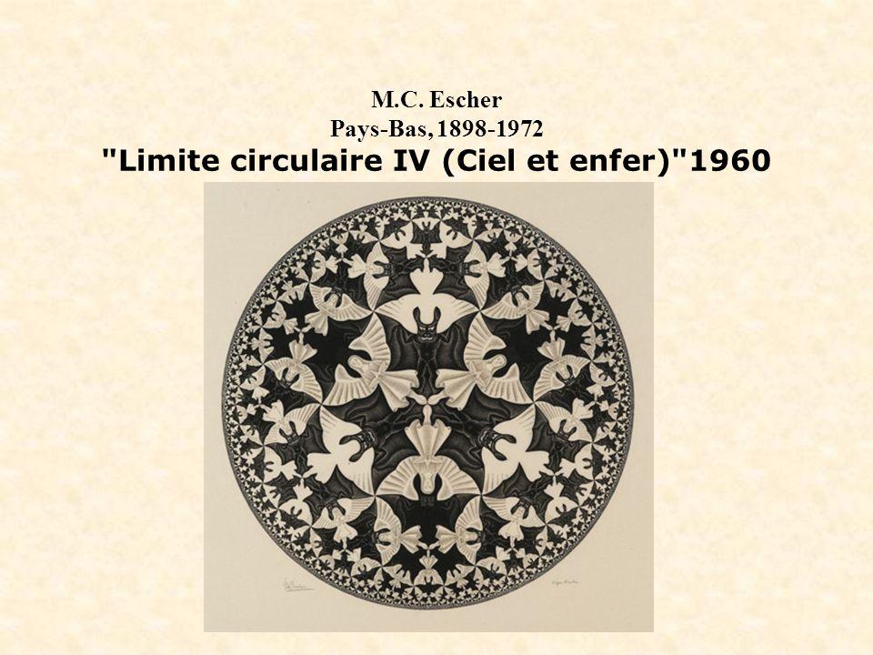 M.C. Escher Pays-Bas, 1898-1972