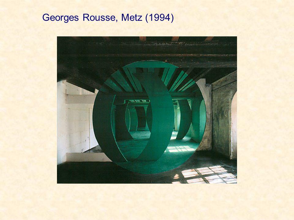 Georges Rousse, Metz (1994)