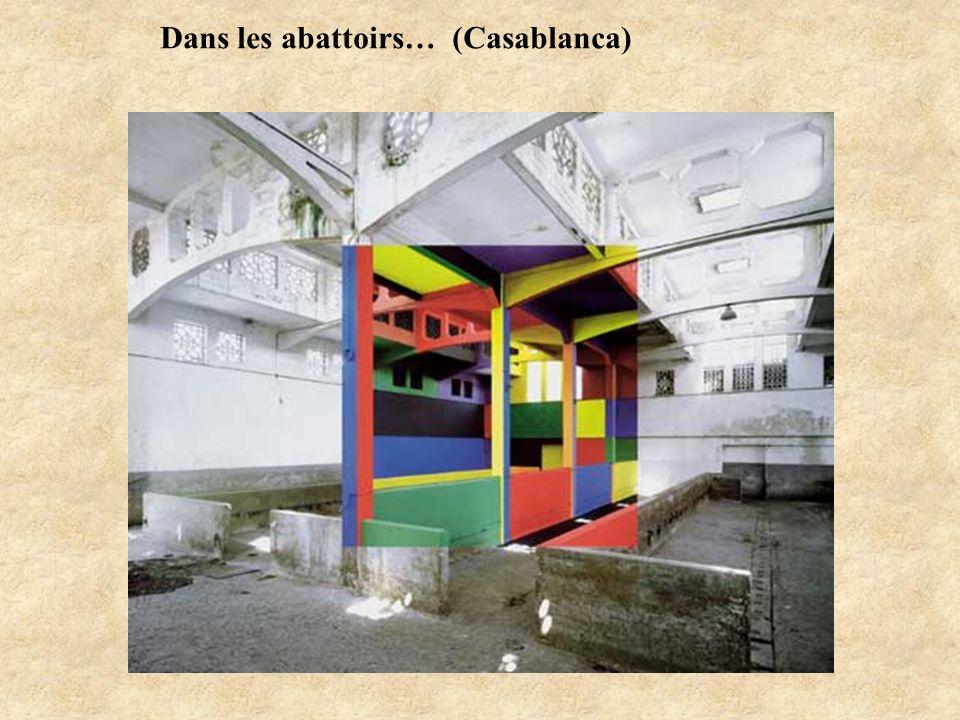 Dans les abattoirs… (Casablanca)