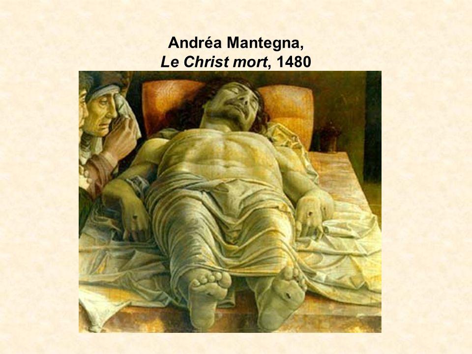 Andréa Mantegna, Le Christ mort, 1480