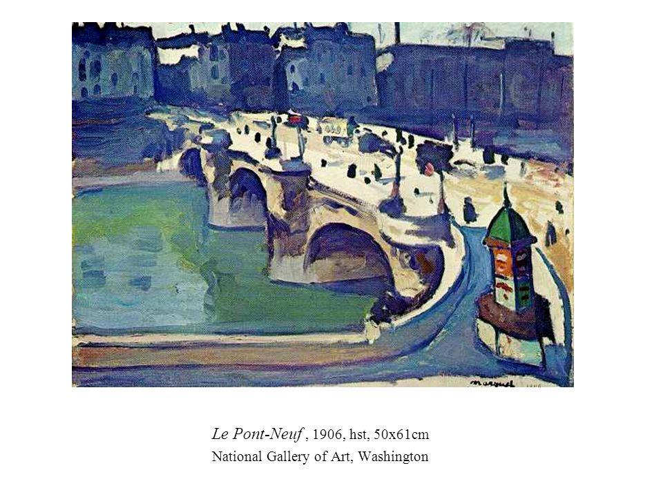 Le Pont-Neuf, 1906, hst, 50x61cm National Gallery of Art, Washington