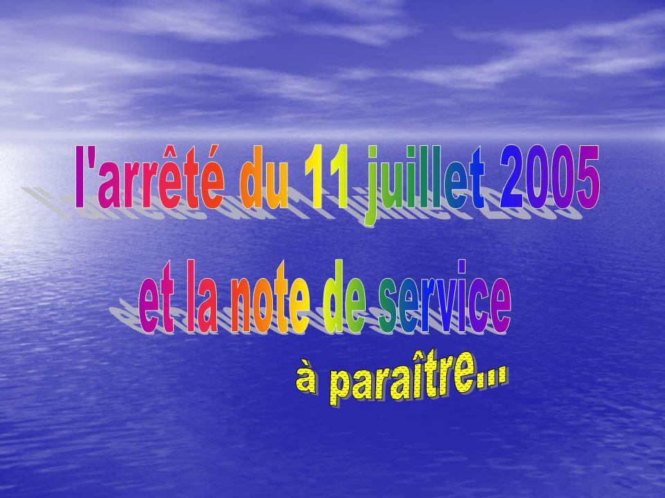 A retenir Larrêté du 22/11/95 est abrogé.ART.14. Larrêté du 22/11/95 est abrogé.