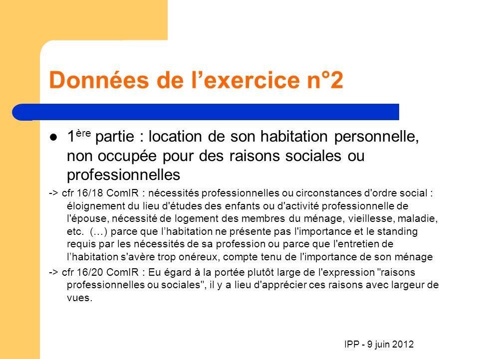 IPP - 9 juin 2012 Fin de la séance MERCI DE VOTRE ATTENTION A bientôt infos : 02/387 10 79 joelle@mats-tax.be