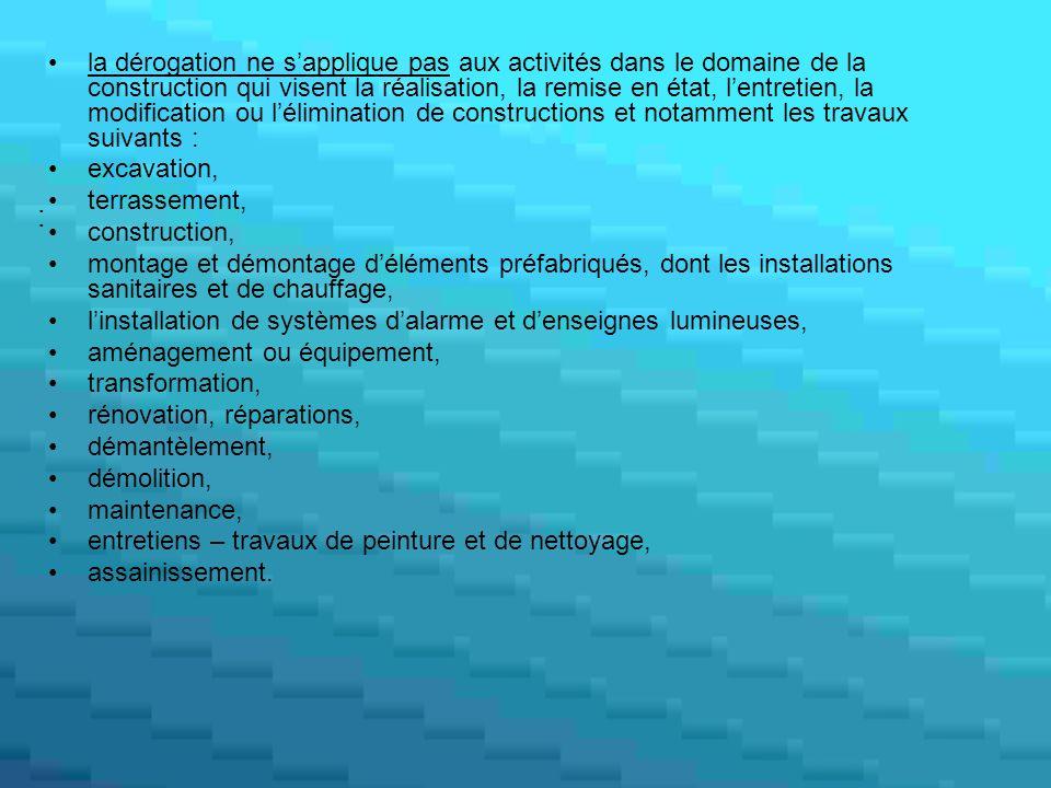 Rôle de lITM = Autorité nationale compétente au fin de lapplication du texte.