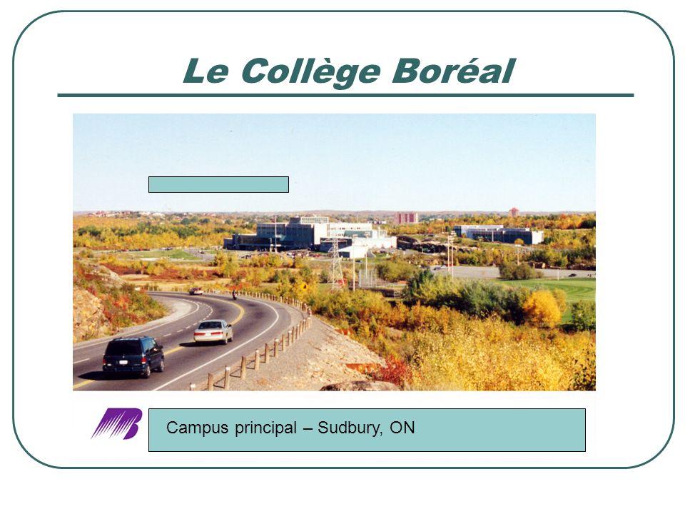 Le Collège Boréal Campus principal – Sudbury, ON