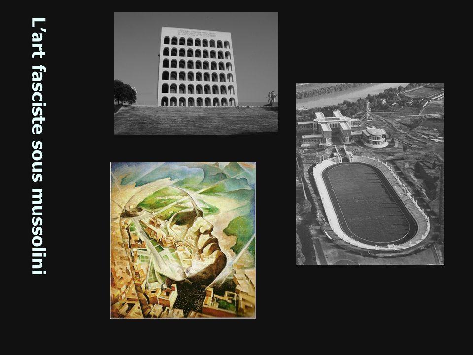 Stade des marbres, Rome Lart fasciste sous mussolini