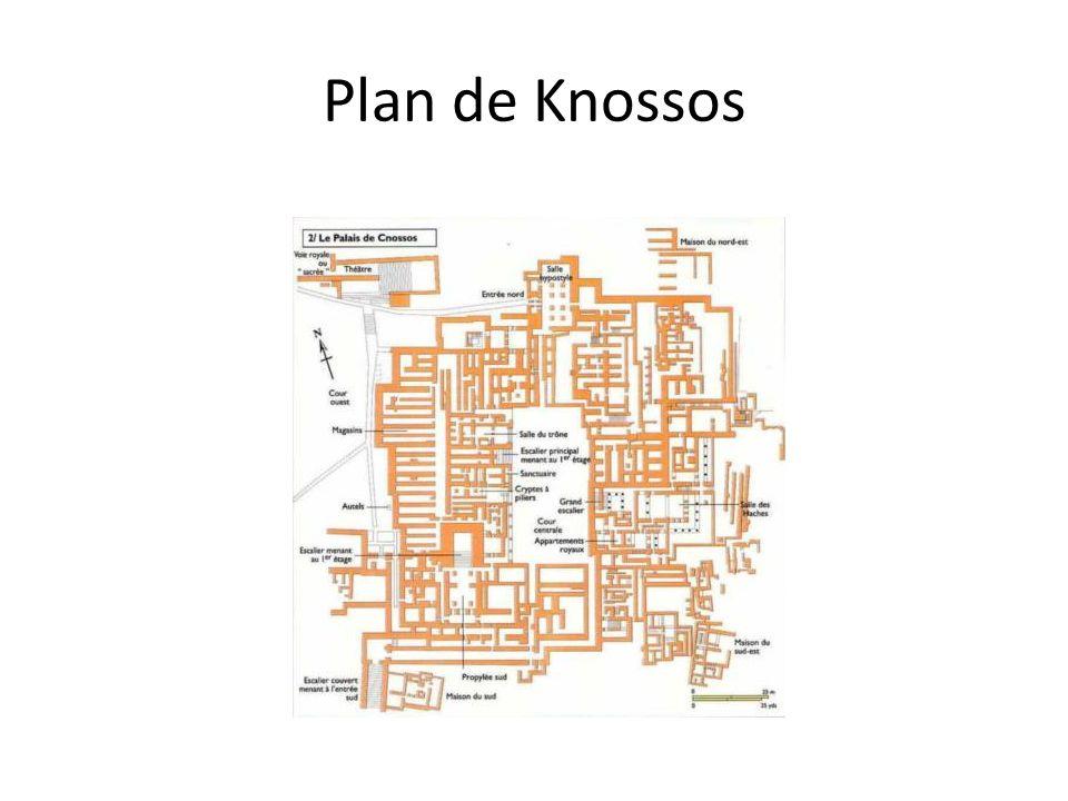 Plan de Knossos