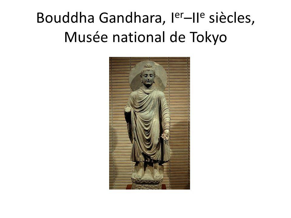 Bouddha Gandhara, I er –II e siècles, Musée national de Tokyo