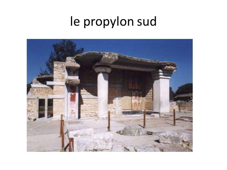 façade de la salle du trône