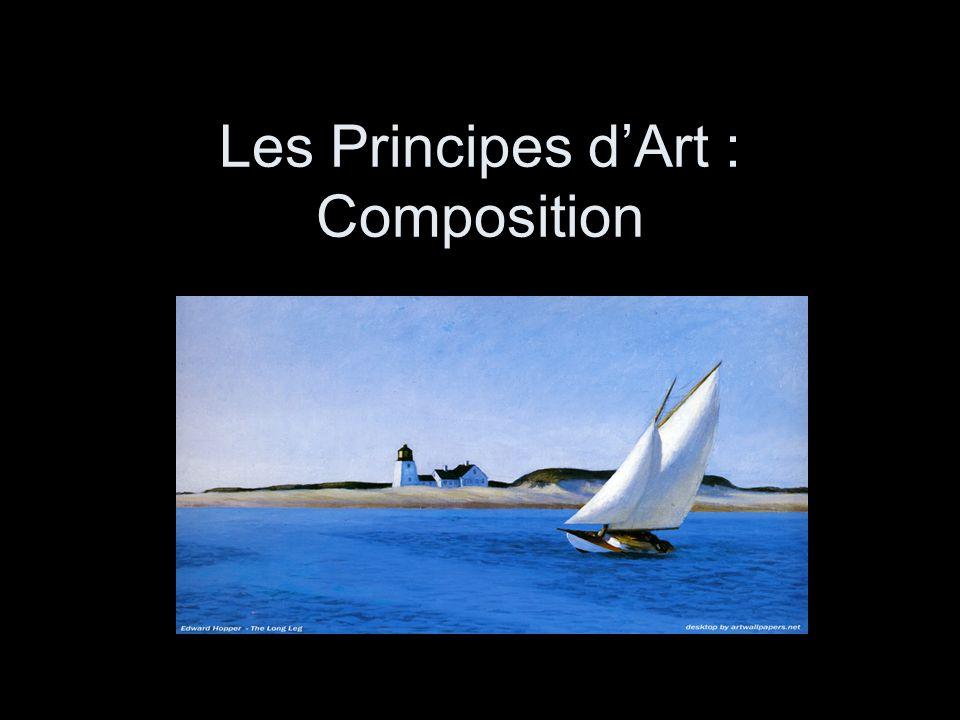 La Composition signifie: la manière dans laquelle les choses sont rangées.