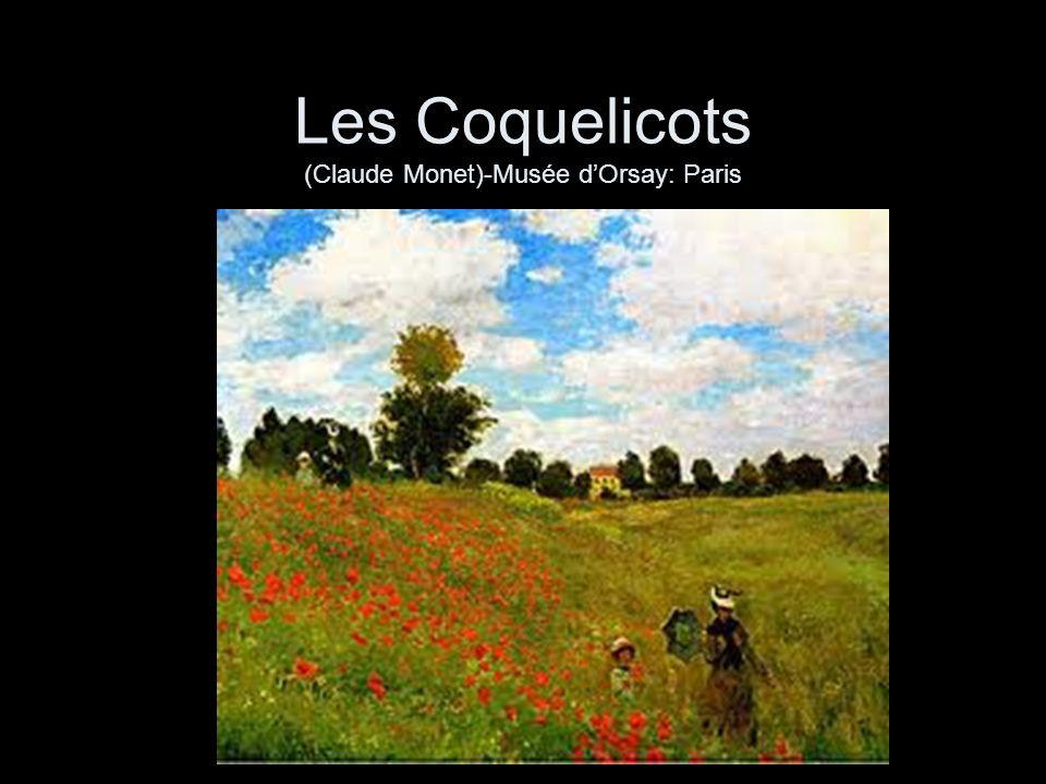 Les Coquelicots (Claude Monet)-Musée dOrsay: Paris