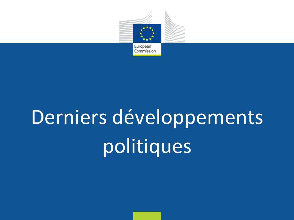 Date: in 12 pts Derniers développements politiques