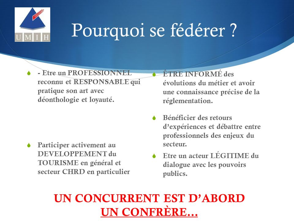 Pour nous joindre : UMIH Mayotte BP 189 – 97610 Labattoir umih.mayotte@gmail.com 06.39.69.51.65