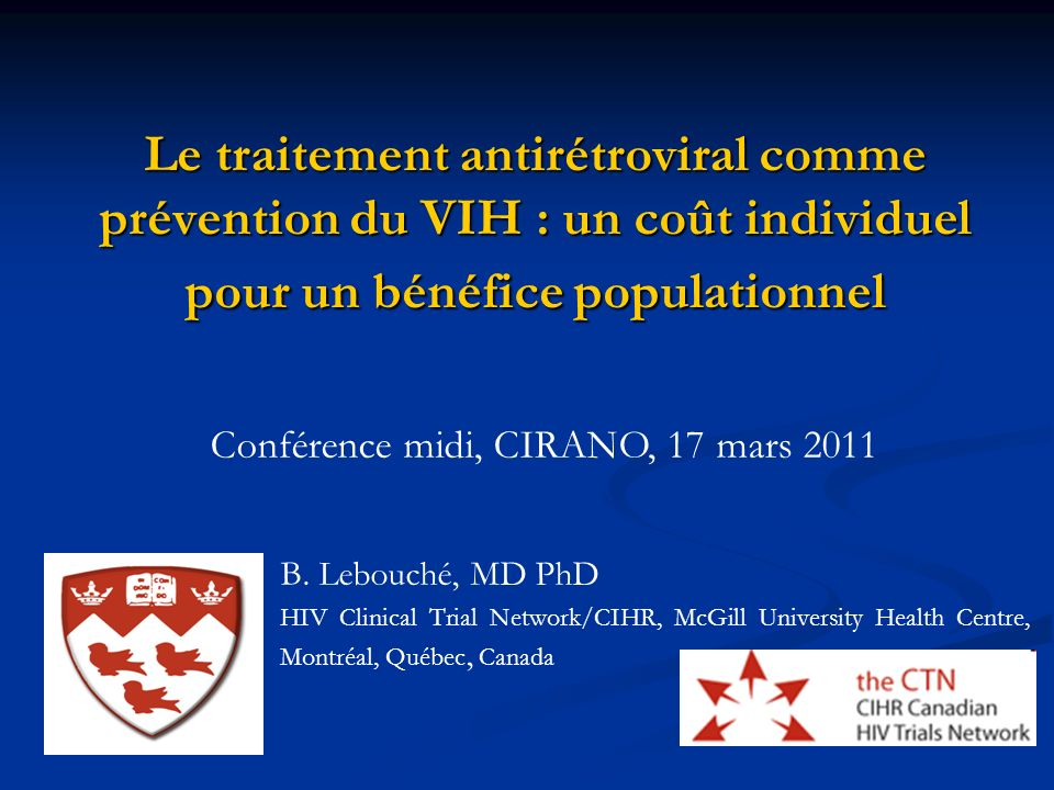 22 Recommandations suisses: Impact sur la cohorte suisse (1) After, the publication of the Swiss Statement, 7809 PLWHA reported more unprotected sexual intercourse with their stable uninfected partner if they were receiving ART therapy and if HIV replication was suppressed (undetectability).