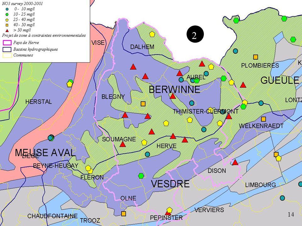 Survey Nitrate Eaux souterraines 14 2