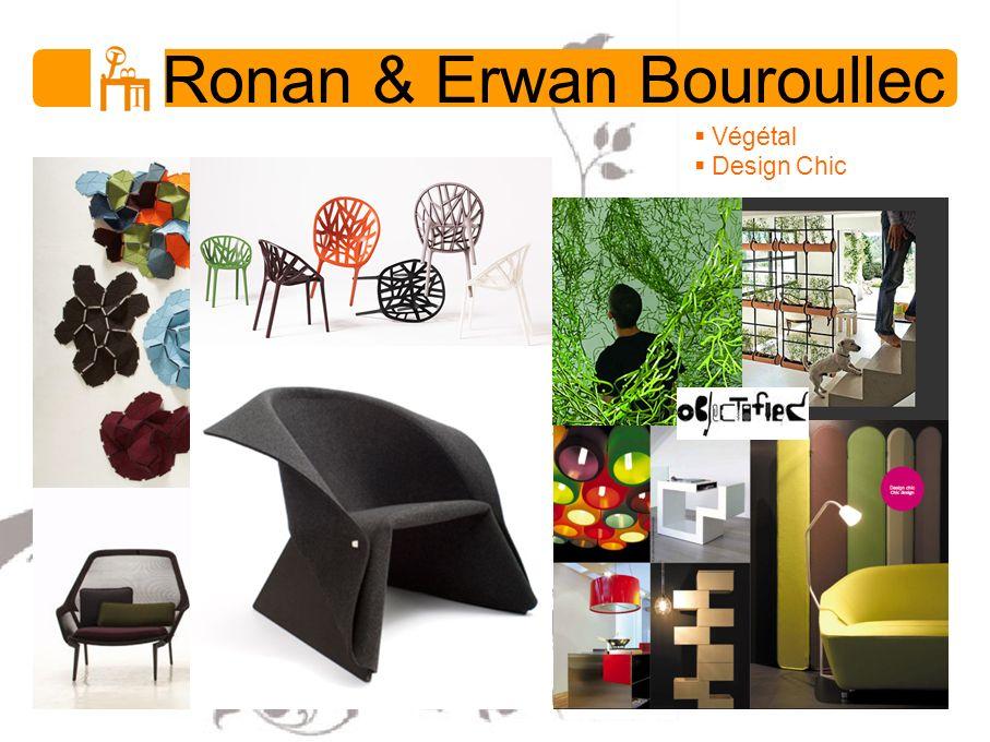 Ronan & Erwan Bouroullec Végétal Design Chic