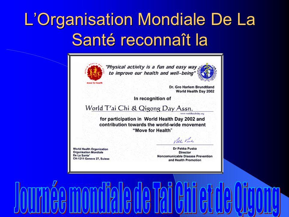 Les Nations unies, des Gouverneurs et des Maires se mirent à proclamer officiellement la Journée mondiale de Tai Chi et de Qigong !