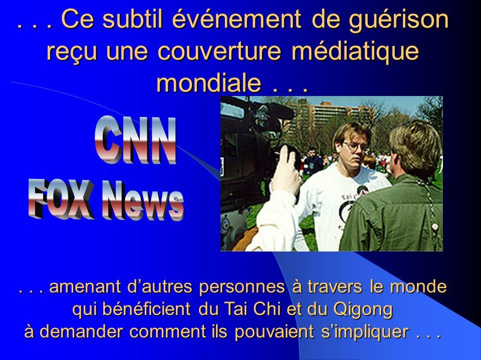 ...Ce subtil événement de guérison reçu une couverture médiatique mondiale......