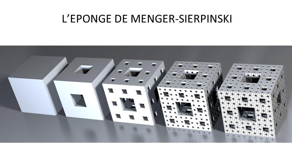 LEPONGE DE MENGER-SIERPINSKI