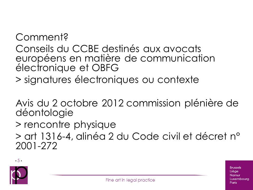 Brussels Liège Namur Luxembourg Paris Fine art in legal practice 5 Comment.