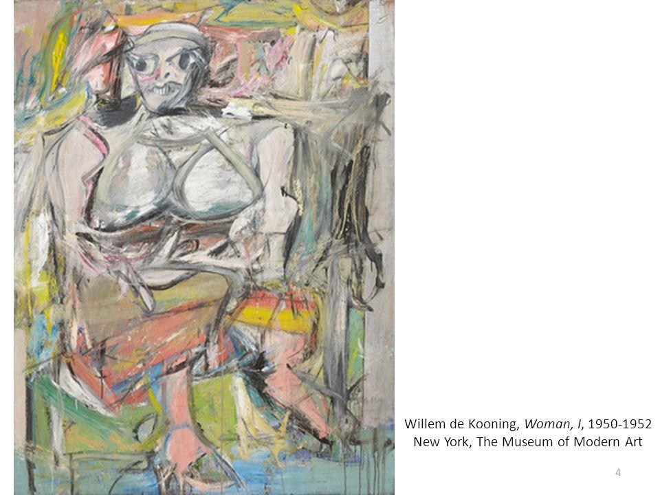 Leo Castelli dans sa galerie dart à New York lors de lexposition personnelle de Jasper Johns 1955