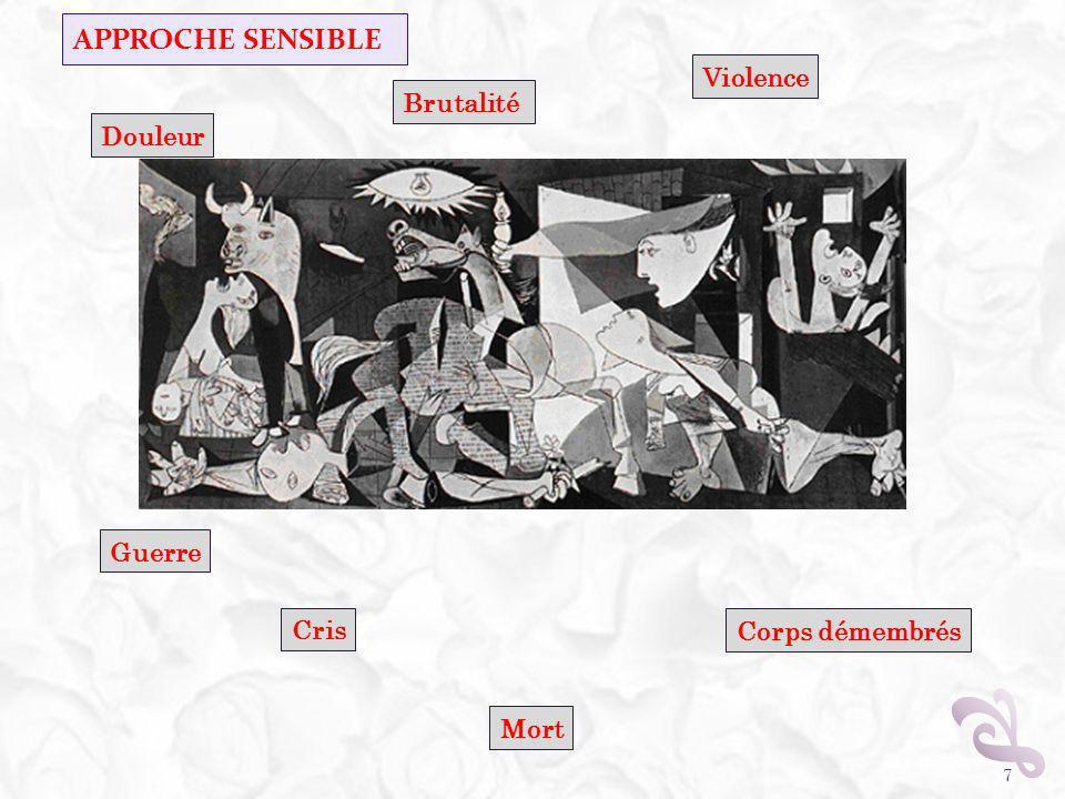 APPROCHE SENSIBLE 7 Violence Douleur Cris Guerre Mort Corps démembrés Brutalité