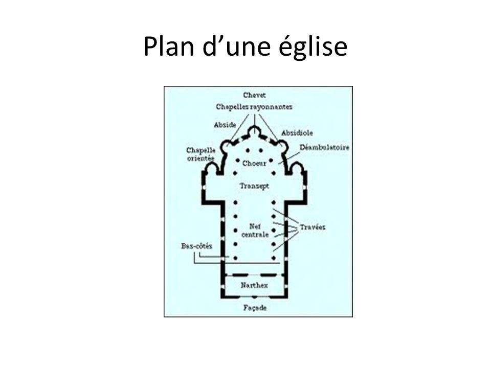Plan dune église