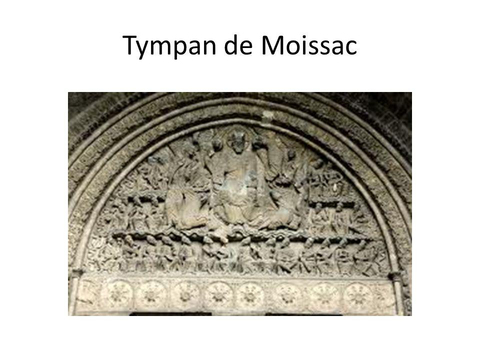 Tympan de Moissac